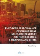 Enforced performance of commercial sales contracts  in the Netherlands, Singapore and China