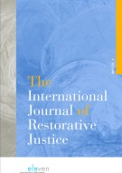 The International Journal of Restorative Justice (TIJRJ)